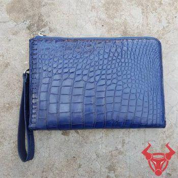Túi Clutch Nam Da Cá Sấu Cao Cấp Da Thật CC1208