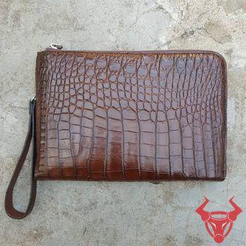 Túi Clutch Nam Da Cá Sấu TP HCM CC0208