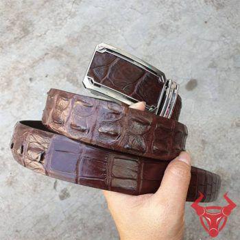 Thắt Lưng Da Cá Sấu Xuất Khẩu Giá Rẻ HCM TT020401