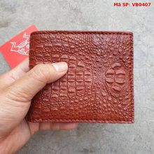 Bóp Ví Da Cá Sấu Nam Nguyên Con VB0407