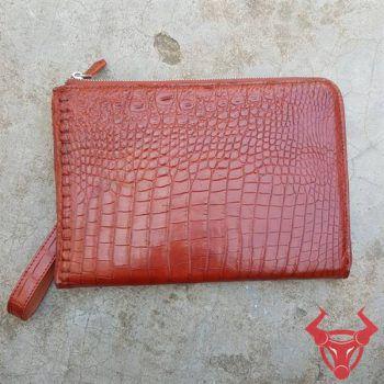 Túi Clutch Nam Da Cá Sấu Thật Giá Rẻ CC0408