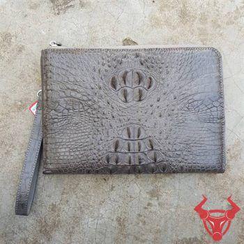 Túi Clutch Nam Da Thật Da Cá Sấu CC1504