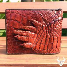 Bóp da cá sấu móng tay mua ở đâu - VB1006