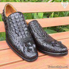 Giày da cá sấu cao cấp nam GCS07-D
