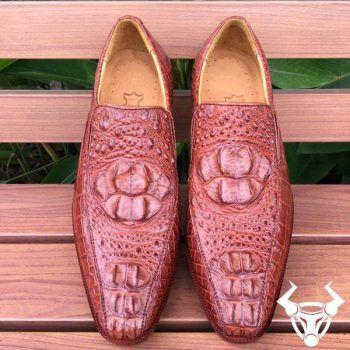 Giày da cá sấu giá rẻ GCS11