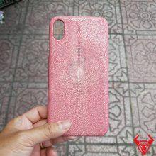 Ốp Lưng Da Cá Đuối Iphone XS MAX OA17A17