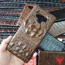 Ốp Lưng Da Cá Sấu Samsung Note 9 Nâu Gù