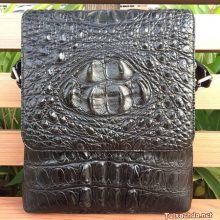 Túi da cá sấu nam CST06