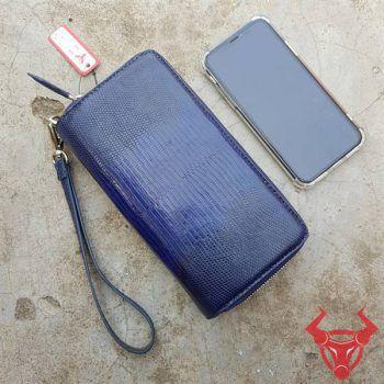 Ví Da Kỳ Đà Mini 2 Ngăn Xinh BH12A3