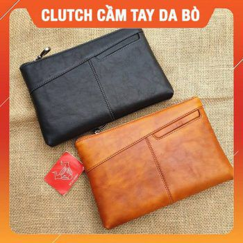 Clutch Cầm Tay Nam Da Bò Cao Cấp CL25
