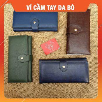 Ví Cầm Tay Nam Da Bò Đặc Biệt VCT30