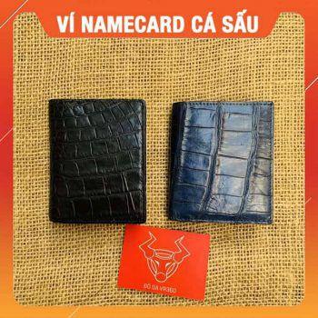 Ví Da Cá Sấu Đựng Namecard Mini VS