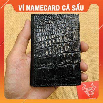 Ví Da Cá Sấu Đựng Namecard Size Lớn VK